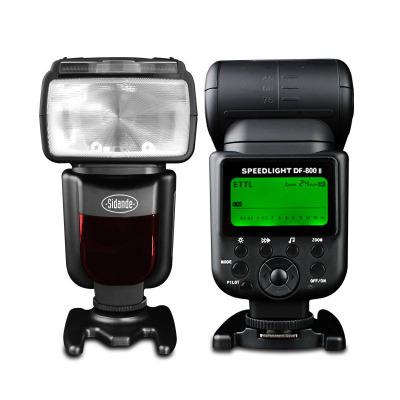 斯丹德DF-800闪光灯适用佳能尼康机顶单反外置高速同步TTL热靴闪光灯60/70D 6D/2 5D4/3/2/S/R