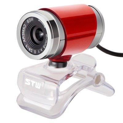 STW三鑫天威 摄像头带麦克风话筒 免驱夜视高清电视笔记本台式电脑视频