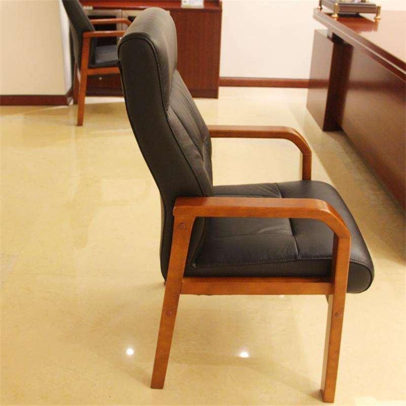 好环境家具直销办公会议椅 古典办公椅 木皮会议椅 职员椅 电脑椅