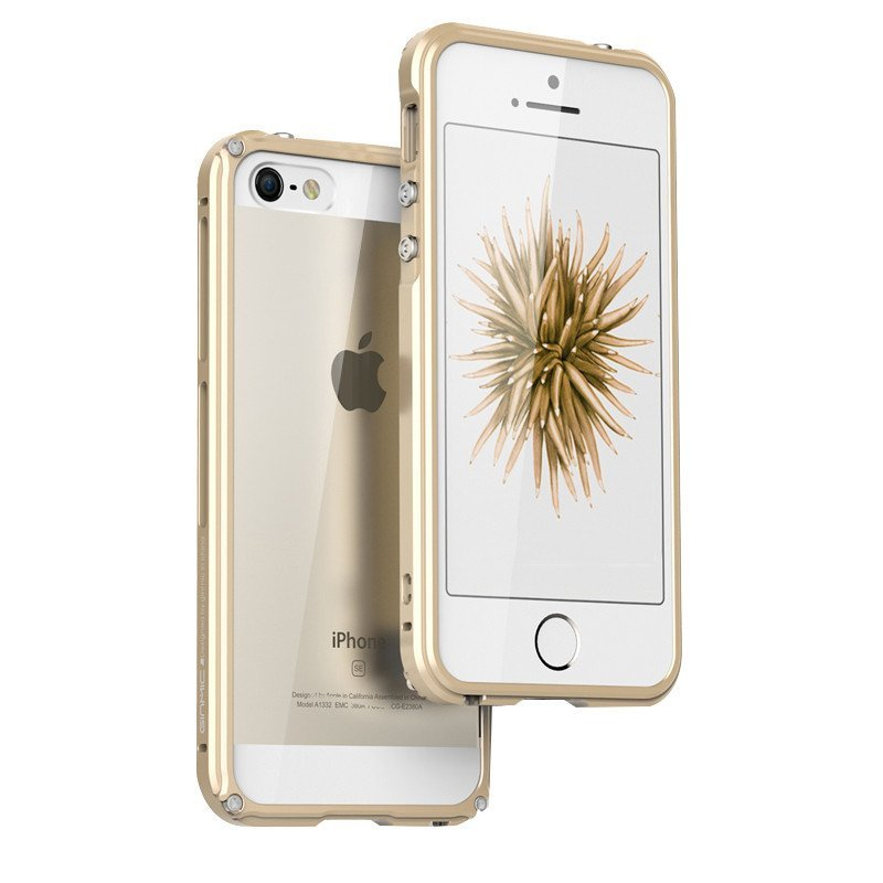 安美宝 苹果5s手机壳iphone se手机套iphone5s金属边框se保护套se新款