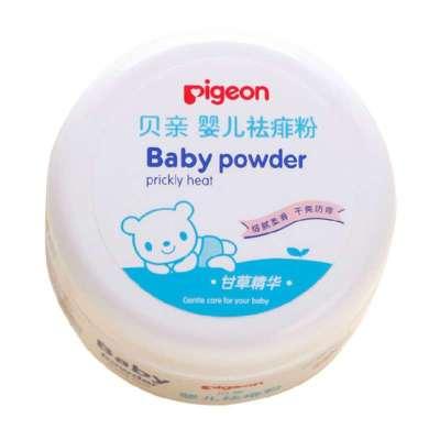 貝親盒裝嬰兒祛痱粉120g HA09