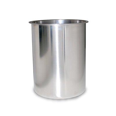 健康莱商用奶茶店绵绵冰机 专用原装不锈钢加厚冰桶 冰柱桶