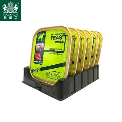耐威克寵物零食全犬種通用狗罐頭濕糧100g*6盒