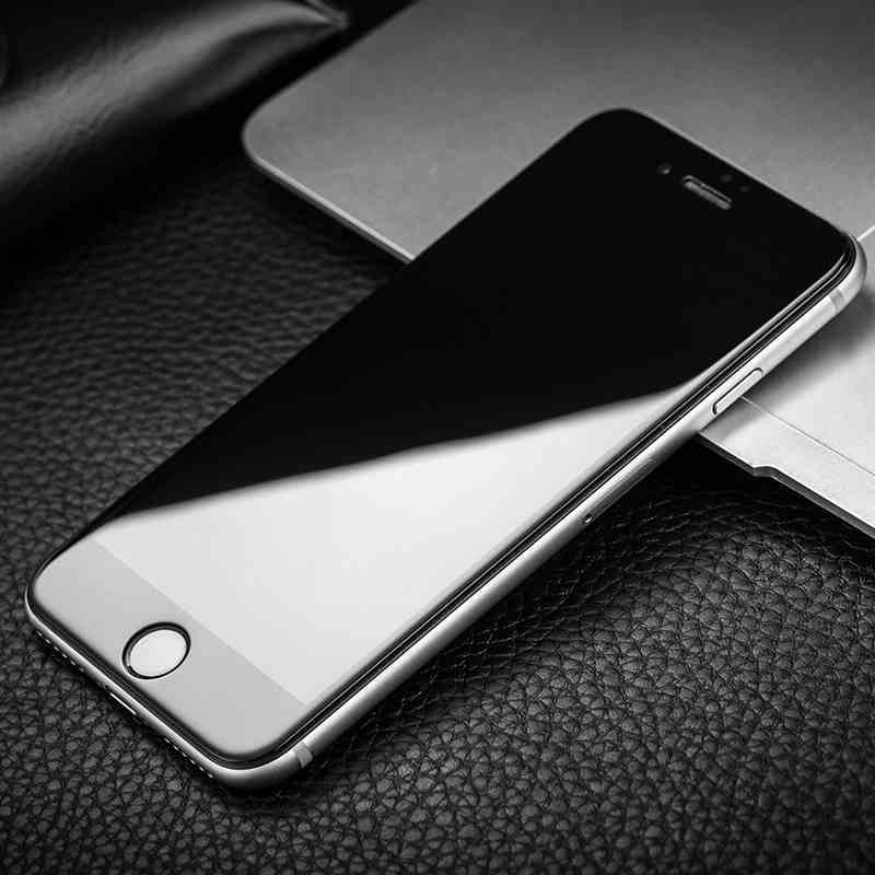 iphone6钢化膜苹果6s保护膜6plus手机膜高清全屏覆盖4d白色贴膜
