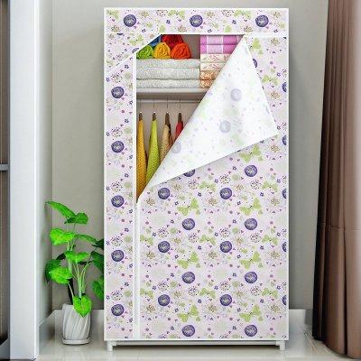 索尔诺衣柜 简易 布衣柜 单身简易 组合折叠衣橱 防尘防潮布衣橱 整理收纳柜8501