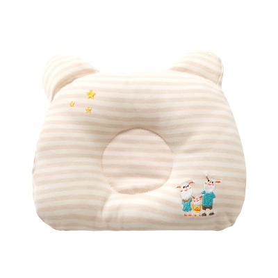 班杰威尔Banjvall宝宝枕头新生儿透气纯棉6-9月3-6月0-3月9防多汗新生儿童枕类宝宝定型枕母婴用品