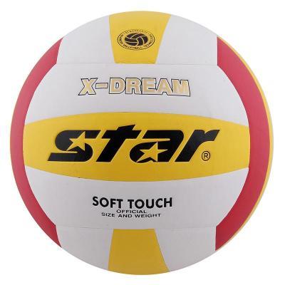 Star世達 排球VB4025-34 PU 機械粘接 成人學生用5號排球
