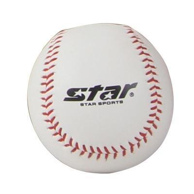 Star世達 棒球WB302 專業軟式棒球 初學者用球白色