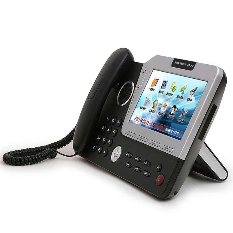 先锋影��i)����d�_先锋音讯vaa-i9800 彩屏智能录音电话座机 老板商务电话机