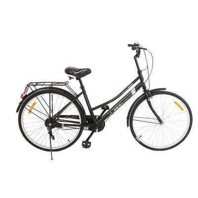 上海凤凰女式自行车通勤车学生车轻便车男女款女式仿捷车26寸新品