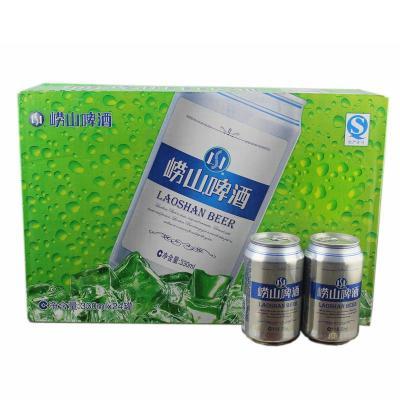 青岛啤酒 10度崂山啤酒330ml*6听