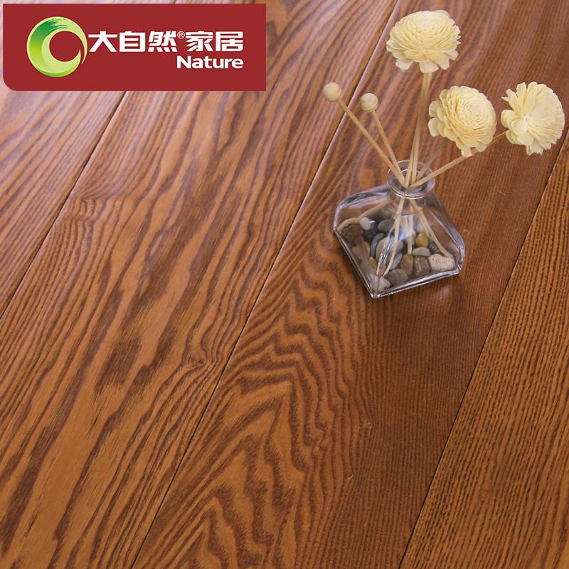 大自然 多层实木复合地板15mm 白蜡木环保木地板厂家直销ke9068m