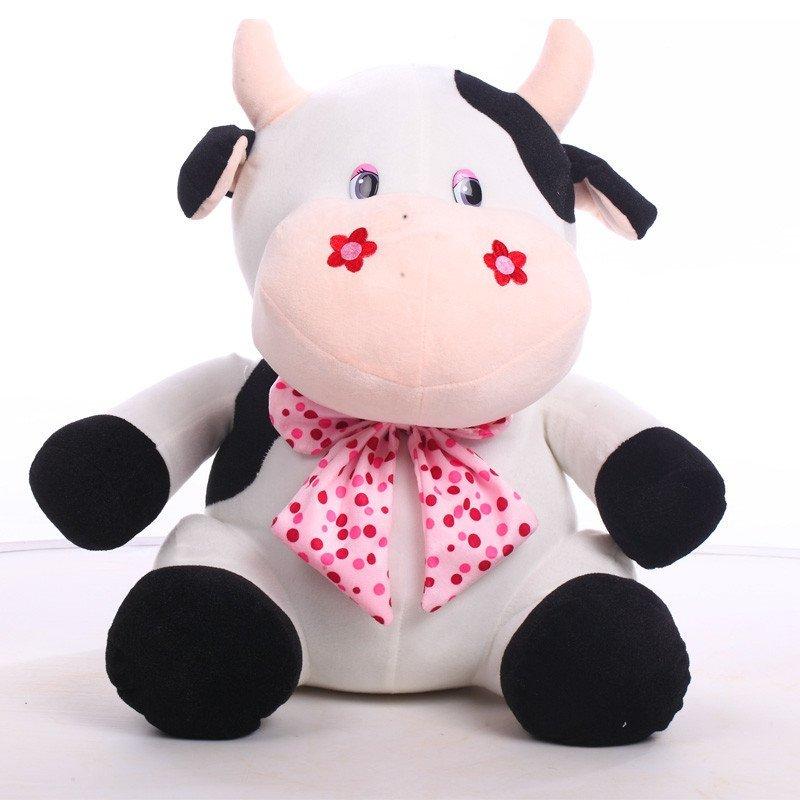 悦达 可爱奶牛公仔布娃娃玩偶布偶儿童毛绒玩具可爱生日礼物女生