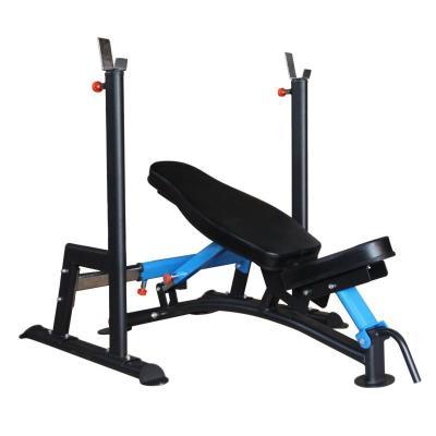 騏駿專業分體式可調節深蹲臥推架家用多功能舉重床可伸縮杠鈴架