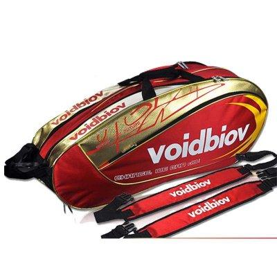 voidbiov羽毛球包双肩背包 6支装 男女款球拍包