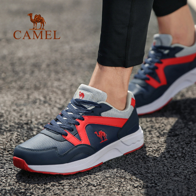 CAMEL骆驼运动 男款缓震舒适低帮系带时尚跑步鞋