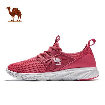 CAMEL駱駝戶外運動鞋 2019新款女款潮流百搭透氣輕便休閑跑鞋
