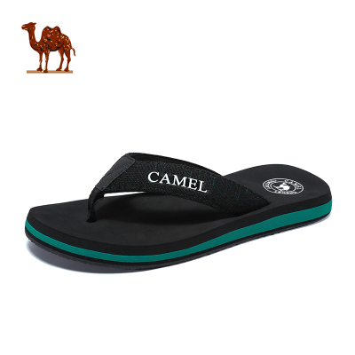 CAMEL骆驼户外沙滩拖鞋 2019夏季新款男款户外运动防滑沙滩夹脚人字拖凉拖