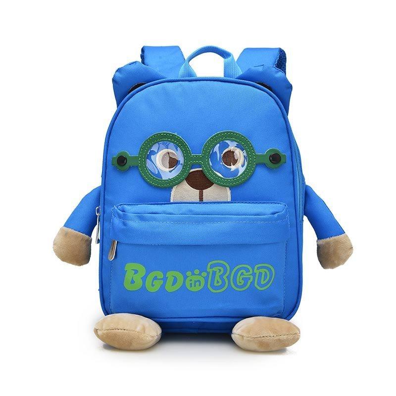 咔米嗒kamida幼儿小书包 1-3-6岁男童女童背包卡通可爱动物书包
