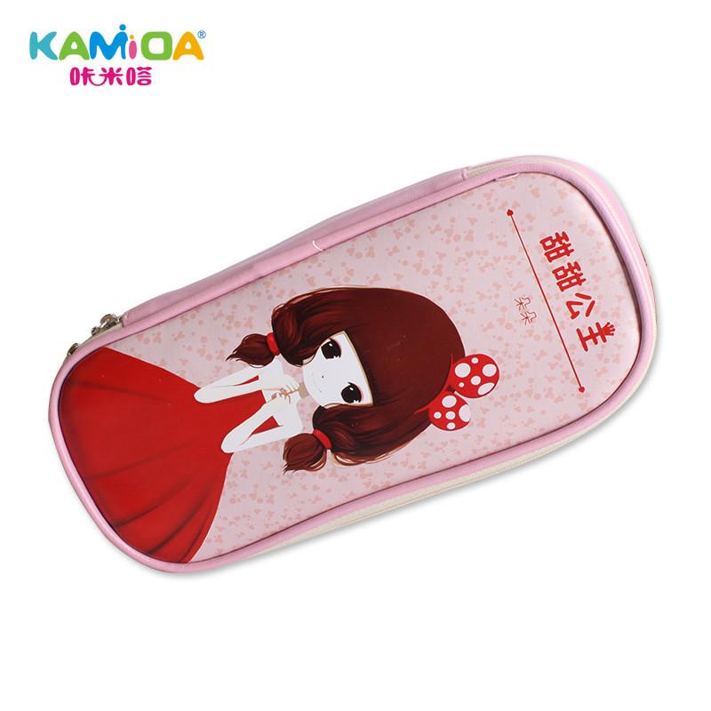 韩版文具盒女孩大容量可爱文具袋学生创意简约铅笔盒