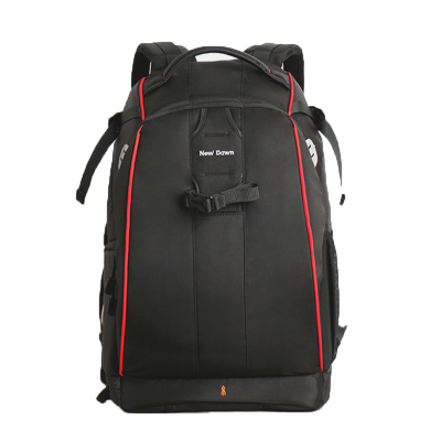 New Dawn 专业单反相机包 摄影包 双肩 大容量防盗背包 六代大号-酷黑红边