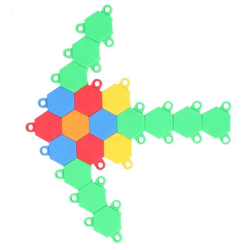 京奇宝宝乐积木 儿童益智 拼插 塑料玩具 锻炼分辨能力 软体玩具