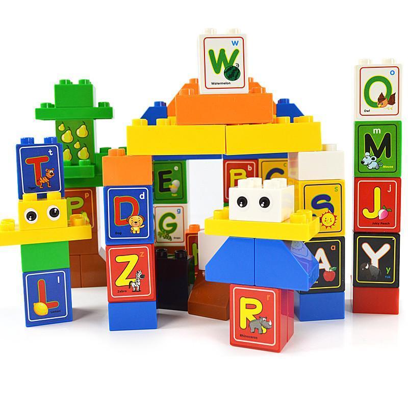 字母乐园积木儿童早教益智玩具m8111