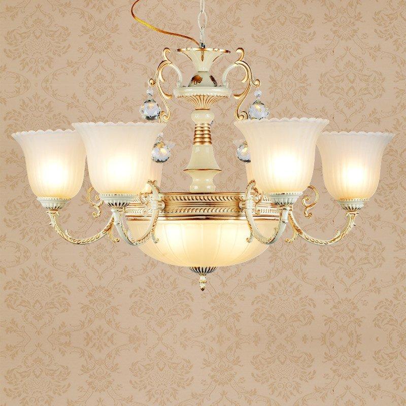 客厅吊灯欧式灯大厅卧室吊灯简约大气餐厅