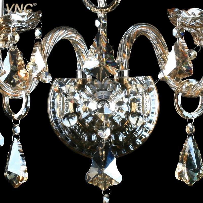 vnc 豪华欧式水晶壁灯 客厅卧室床头欧式水晶灯蜡烛壁灯饰b055