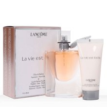 Lancome/兰蔻 美丽人生女士香水2件套(淡香精50ml+身体乳50ml)--