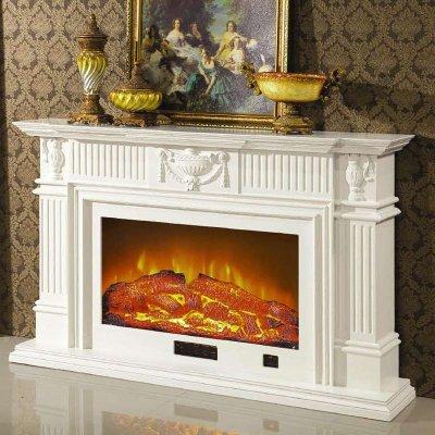 1.2/1.6/2米欧式壁炉 美式白色深色壁炉架 壁炉装饰柜 壁炉芯取暖