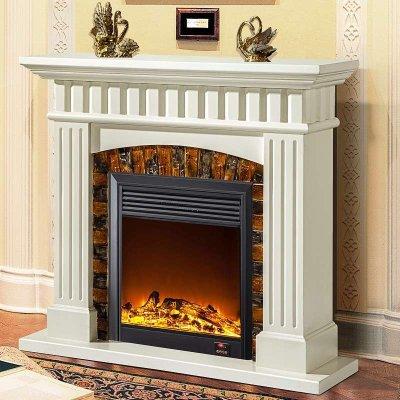 帝轩名典 欧式壁炉装饰柜 1.2/1.5米简约壁炉架 装饰取暖LED炉芯
