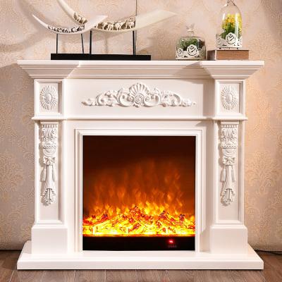 帝轩名典 1/1.2米欧式壁炉 美式电壁炉架 装饰取暖壁炉芯