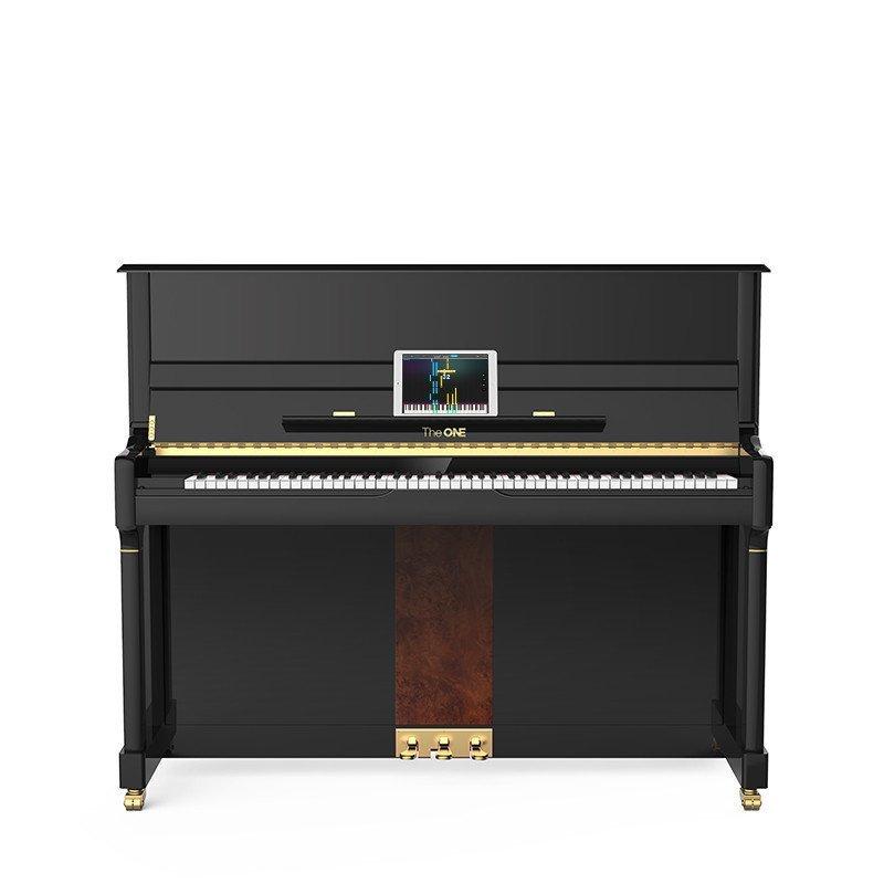 the one 德万智能原声钢琴 立式钢琴 tap