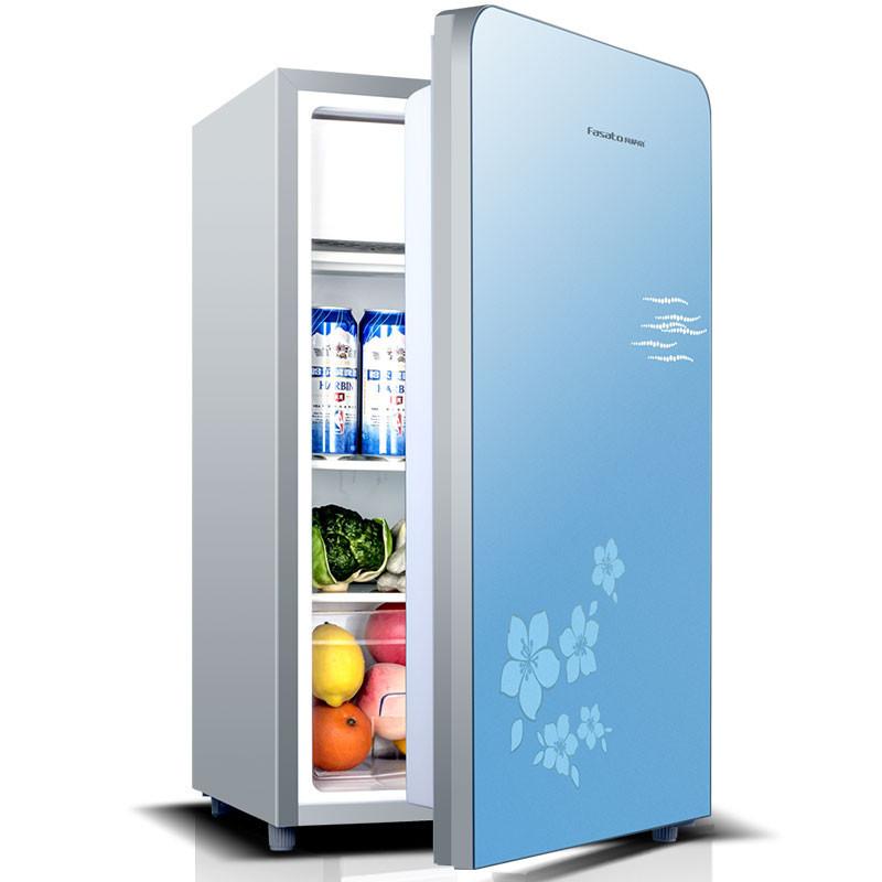 西门子单门电冰箱_凡萨帝(Fasato) BC-96 冰箱 电冰箱 小冰箱 单门冰箱 家用冷藏冰箱 ...