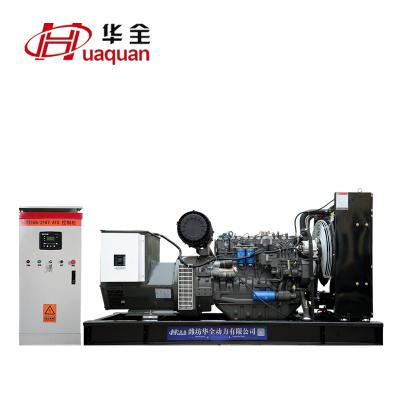 120kw三相发电机 潍柴道依茨120千瓦柴油发电机组 配ATS自动化柜