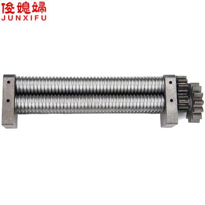 俊媳婦JUNXIFU電動壓面機專用面刀 3/9刀 2/6刀 18MM板面刀普通碳鋼面刀(厚度調節)0.1-5軋面機功率0