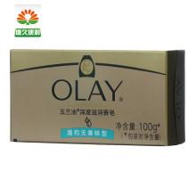 玉兰油(OLAY) 深度滋润香皂 洁面皂 沐浴皂(无香温和型)100g