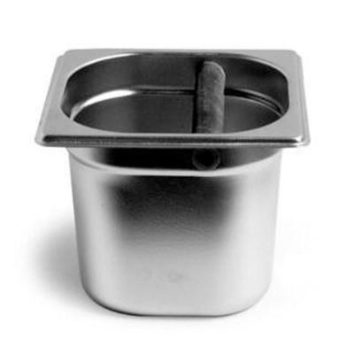 意式半自动咖啡机专用敲渣盒 不锈钢粉渣盒 废渣桶 /咖啡渣回收桶