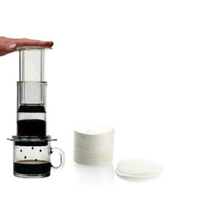 美国原装爱乐压Aeropress压滤器专用滤纸 咖啡过滤纸 / 350片 圆形