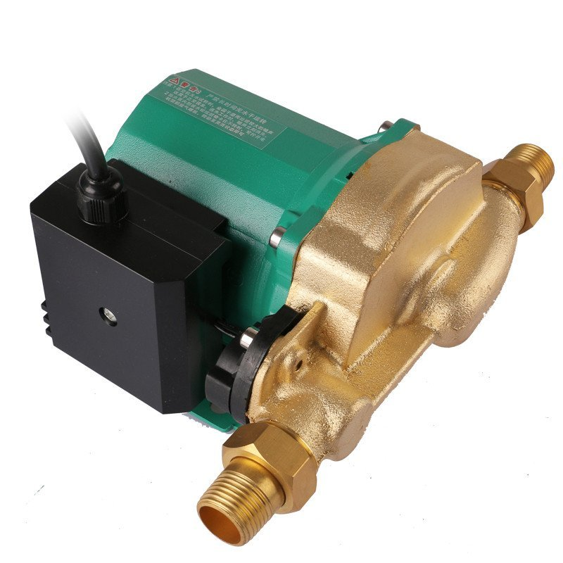 臣源水泵 家用全自动增压泵热水器微型加压泵超静音管道泵