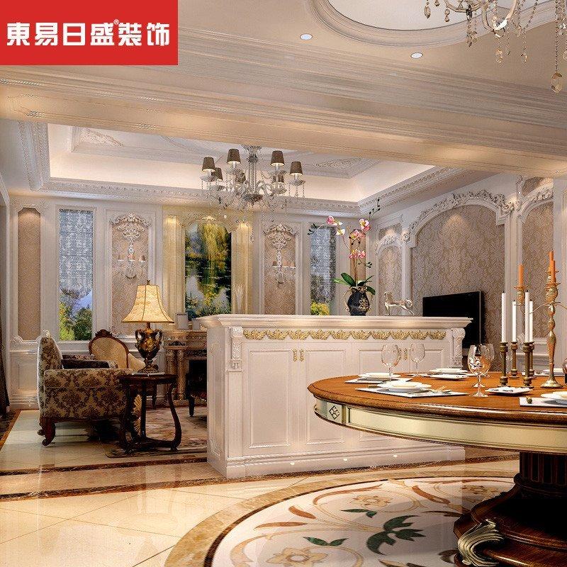 东易日盛 武汉全案装修 家装设计 新古典效果图室内装修设计