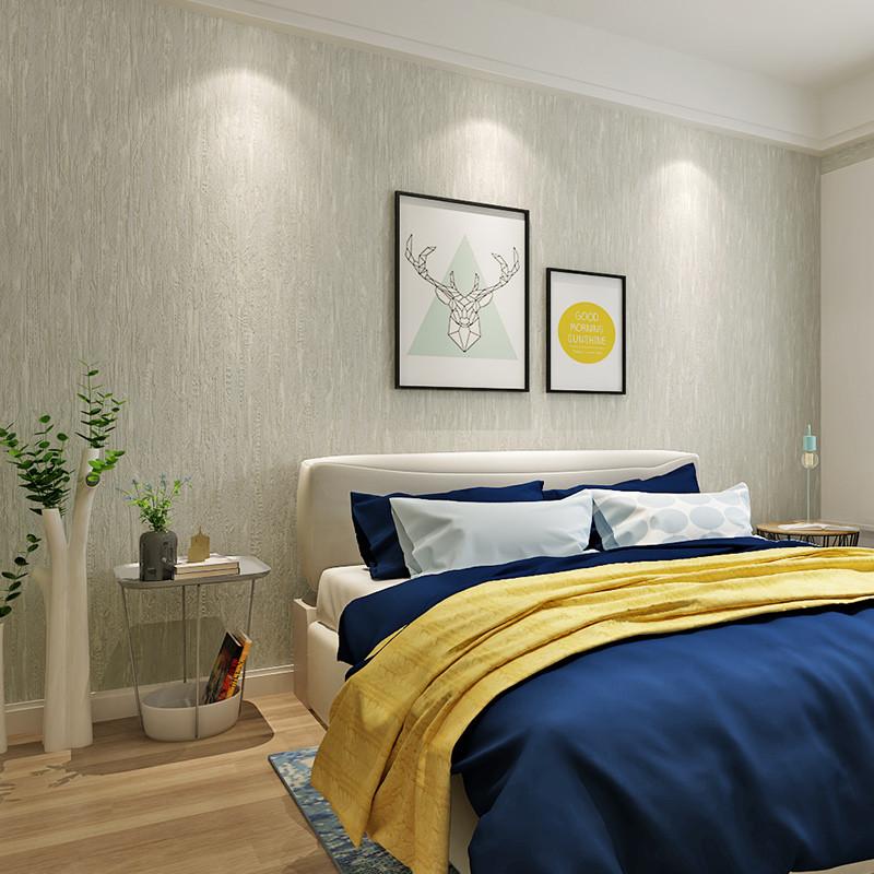 现代简约纯色素色3d斑驳条纹无纺布墙纸卧室客厅电视背景墙壁纸