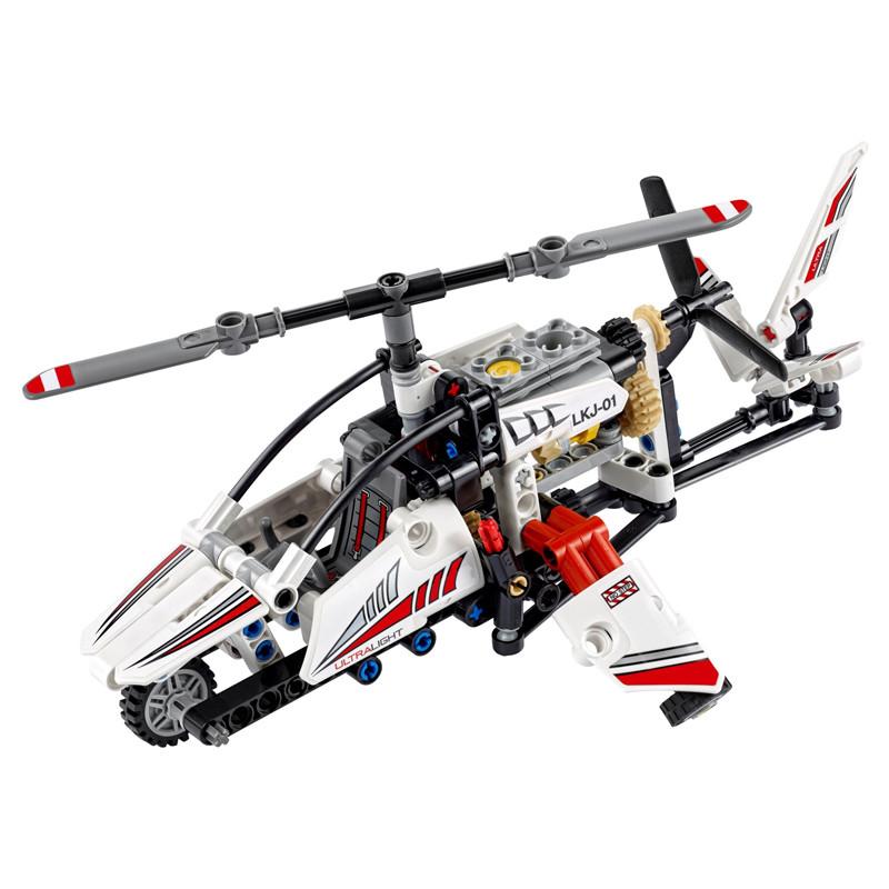 lego乐高 科技机械系列 l42057 超轻型直升机 塑料积木玩具