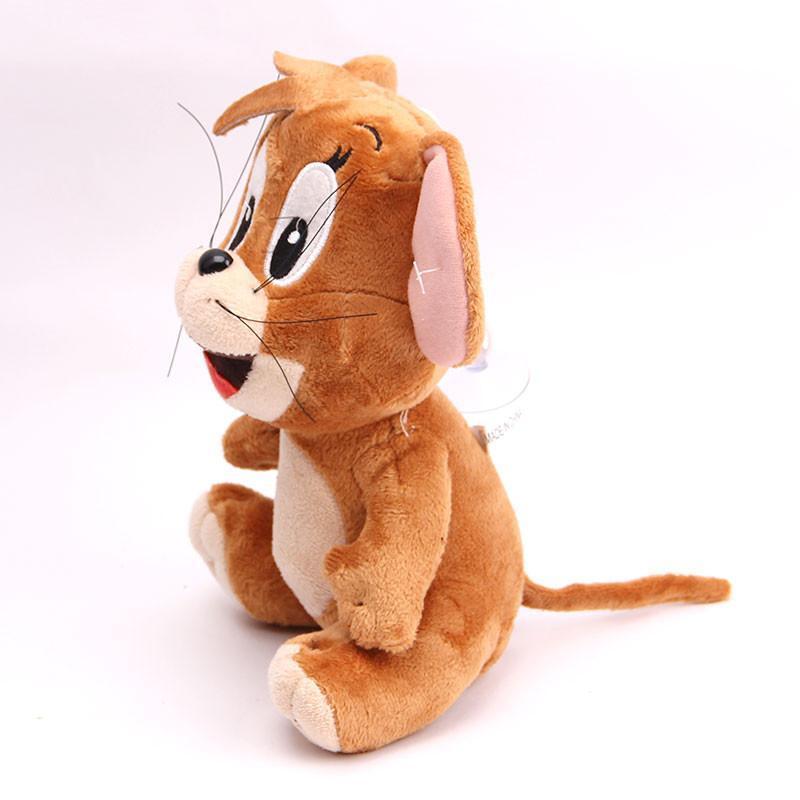 宝诚达 新品可爱汤姆猫杰瑞鼠毛绒玩具公仔猫布娃娃儿童礼物 坐姿鼠约