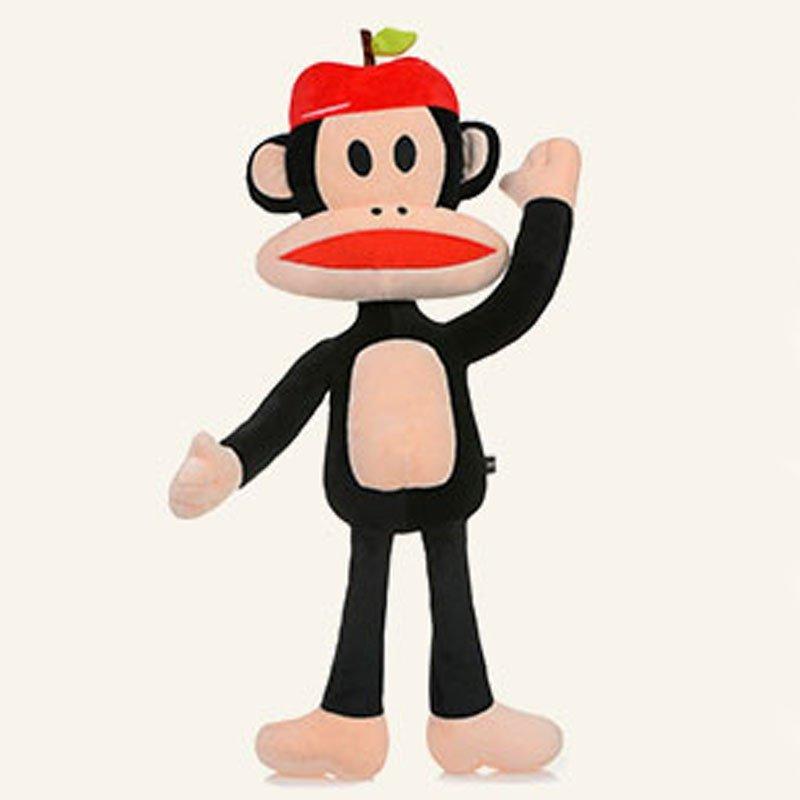 宝诚达 可爱大嘴猴毛绒玩具paul frank猴公仔布娃娃特