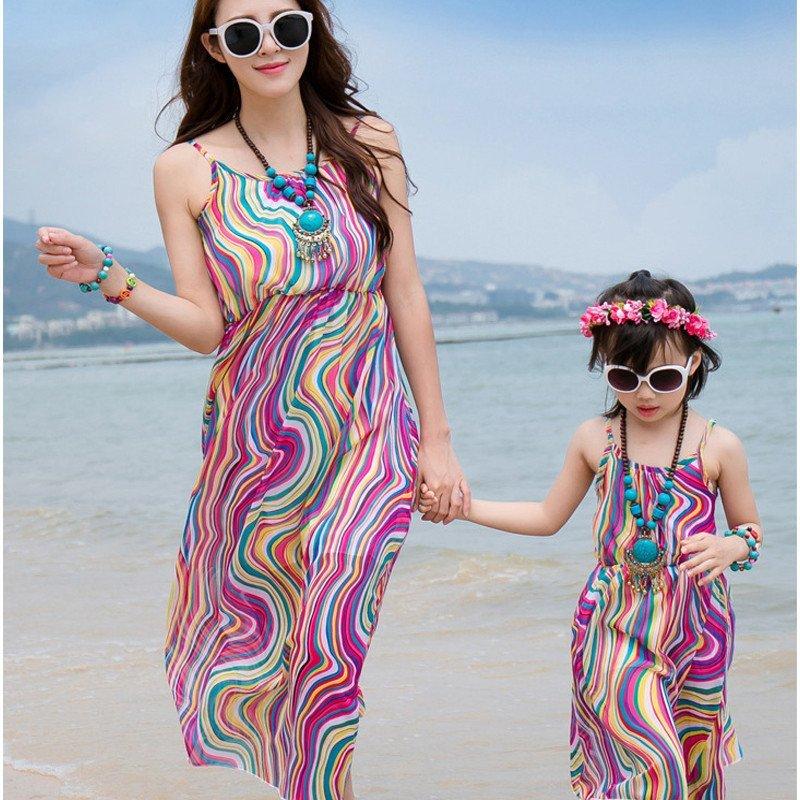 儿童海边渡假沙滩裙