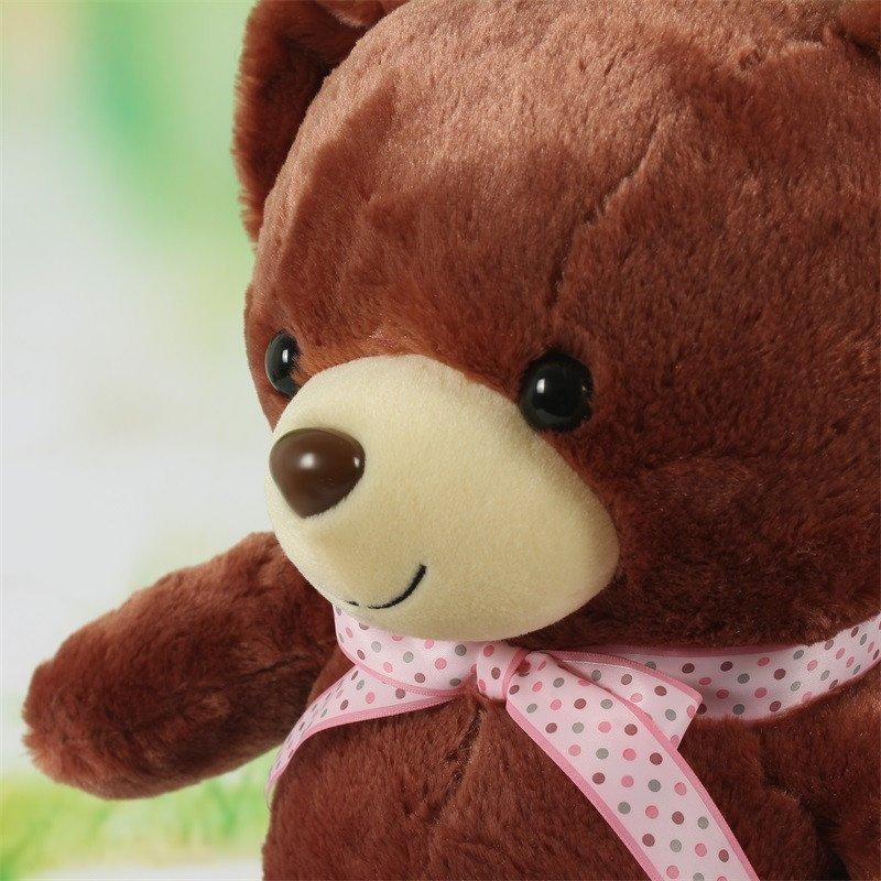 宝贝熊-咖色-46cm 童语(baby02talk)布艺玩具【价格