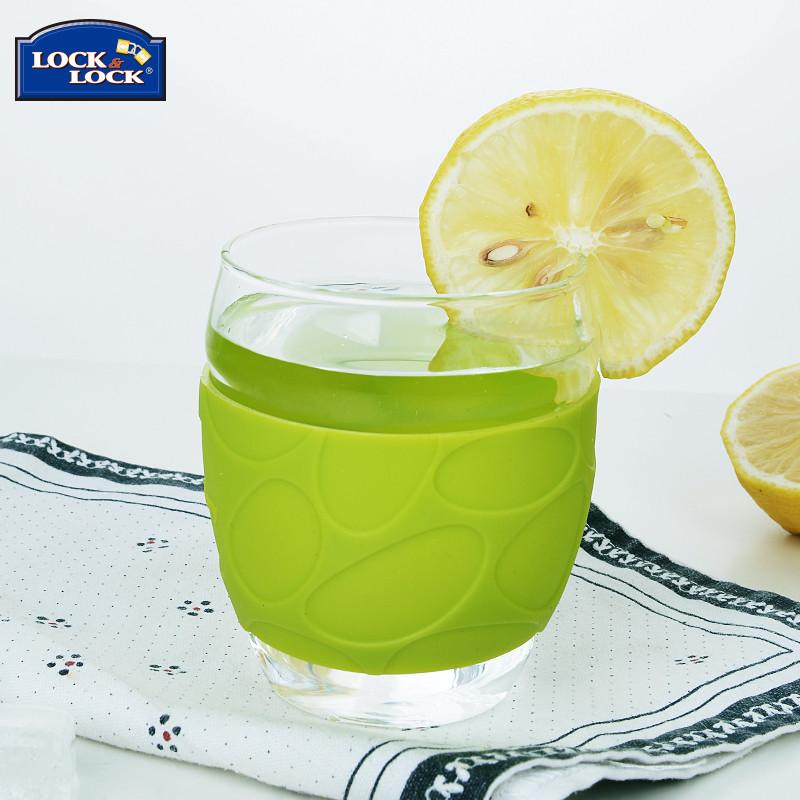 乐扣乐扣水杯 韩式小清新玻璃凉水壶 扎啤水壶饮料壶