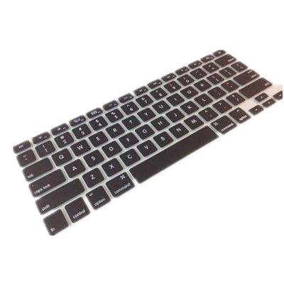 上店 MacBook筆記本鍵盤保護膜蘋果筆記本鍵盤膜適用13.3英寸Air retina15.4英寸pro